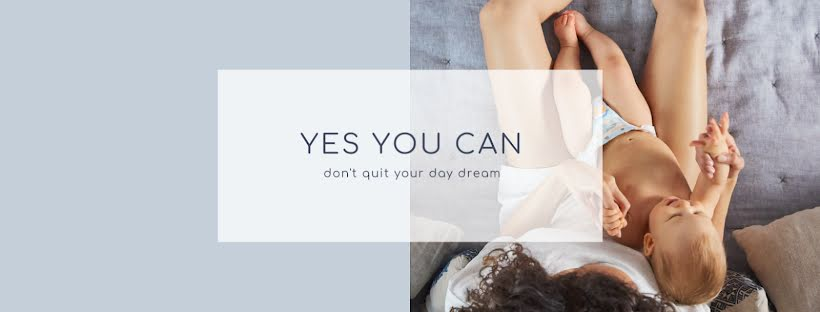 Don't Quit Your Day Dream - Facebook Page Cover Template