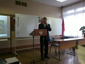 Photo: Директор школы № 326 Рыжов Сергей Леонидович