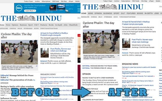 The Hindu Revamp
