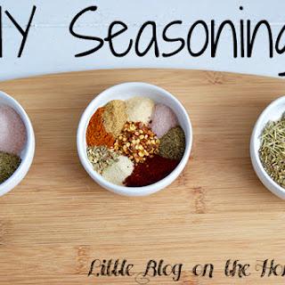 DIY Seasonings Recipe