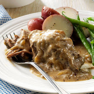 Slow-Cooked Round Steak.