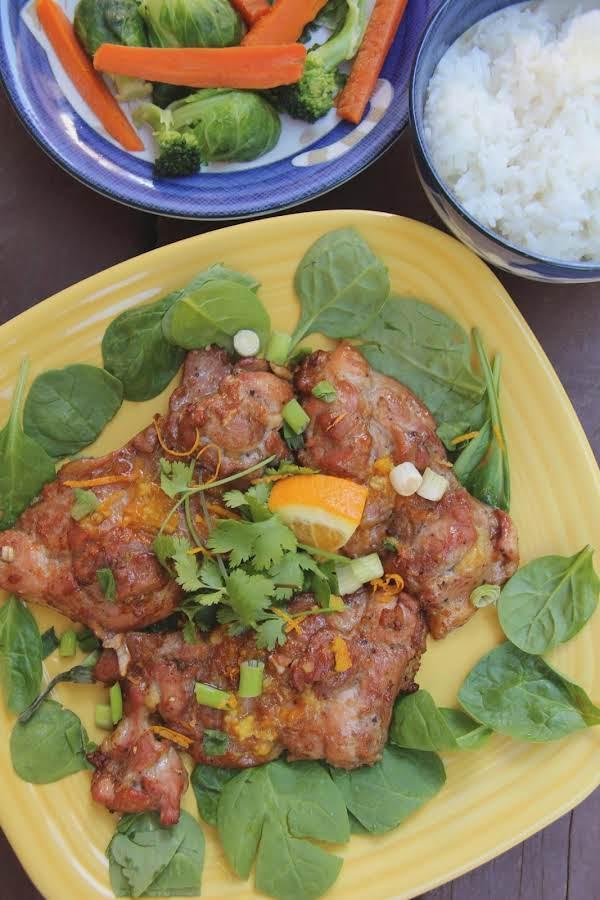 Orange Five-spice Roasted Chicken Recipe