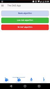 DAS App - náhled