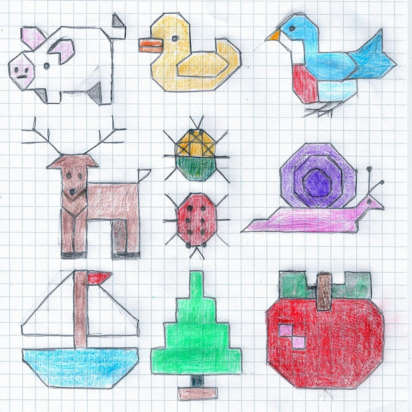 small needlework design samples