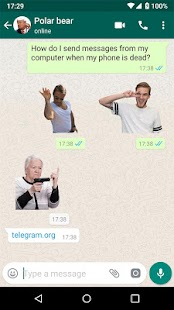 New Stickers For WhatsApp - WAStickerapps Free Screenshot