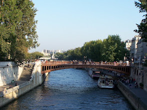 Photo: The Seine by the Notre Dame