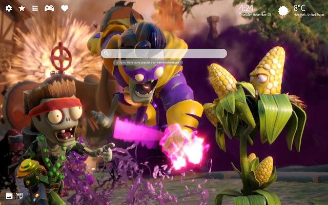 Plants Vs. Zombies Garden Warfare 2 New Tab