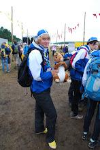 Photo: Finská skautka s veverkou