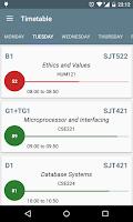 Screenshot of VITacademics