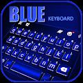 Blue Keyboard Background APK