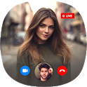 Live Talk Free Video Call and Live Chat Guide icon