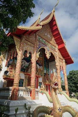 Tempel in Mae Na Wang