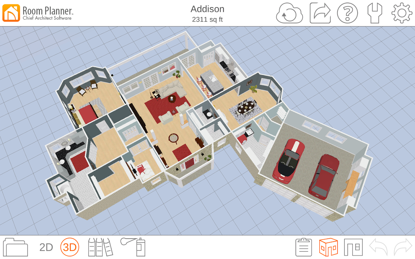 Room planner home design android apps on google play Floor plan 3d download