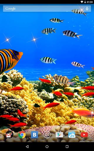 Underwater 3D Live Wallpaper