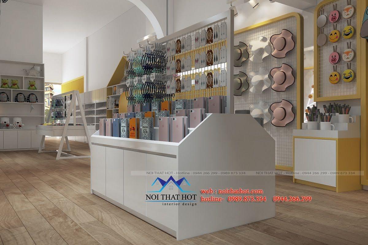 thiết kế cửa hàng lưu niệm tại lò đúc 5