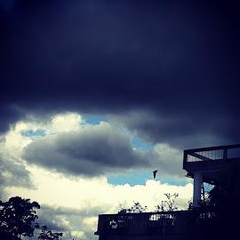 by Surojit Paul - Landscapes Cloud Formations
