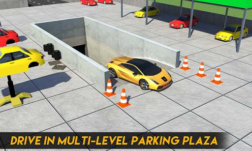 Multi-Storey Car Parking Spot 3D: Auto Paint Plaza filehippodl screenshot 3