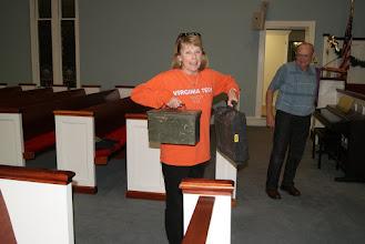 Photo: Patty came prepared!
