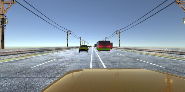 VR Racer: Highway Traffic 360 for Cardboard VR 4