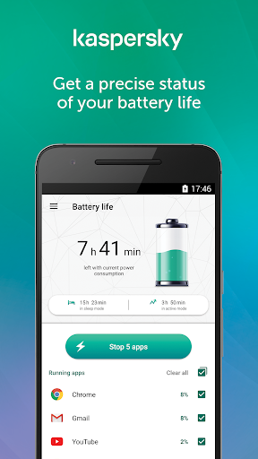 Kaspersky Battery Life: Saver & Booster screenshot 2