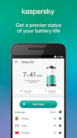 screenshot of Kaspersky Battery Life: Saver & Booster