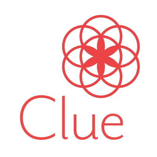 Calendário menstrual Clue: Ovulação e menstruação