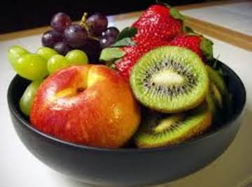 Old World Italian Fruit Bowl on Ice