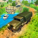 4x4 Mountain Army Truck Games 2020 icon