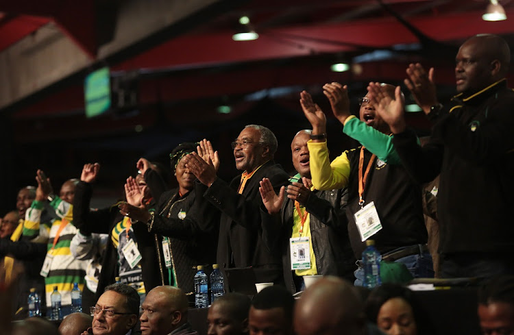Delegates cheer at the African National Congress 5th National Policy Conference at the Nasrec Expo Centre in Soweto, June 30, 2017. Picture: SUPPLIED