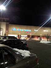Photo: Heading into Albertson's to pick out dinner.