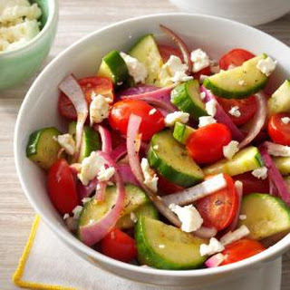 Balsamic Cucumber Salad.