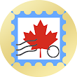 Canada postage stamps icon