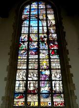 Photo: Die Goudaer Glasfenster 1:  Fenster XII: Die Geburt Jesu. (1564)