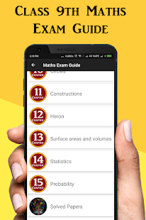 Download Class 9 Maths Exam Guide 2019 - (CBSE Board) For PC Windows and Mac apk screenshot 1