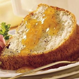 Almond-Poppy Seed Pound Cake