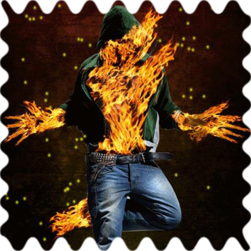 Stylish fiery guy Live WP