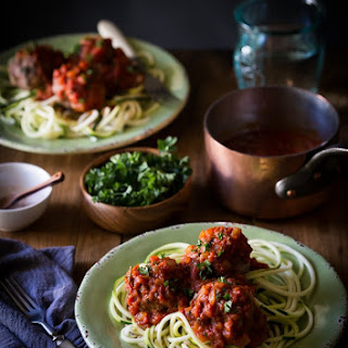 Best Ever Paleo Italian Meatballs in Marinara Sauce! Recipe