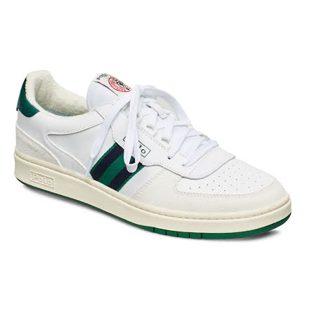 Polo Court Sneakers, white/kelly green/navy