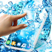 water drops live wallpaper app report on mobile action app store