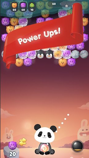 Panda Bubble Puzzle! - Bubble Shooter Screenshots 5