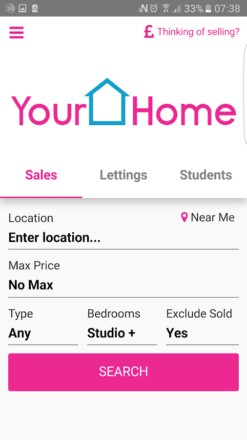 Your Home Property Search- screenshot