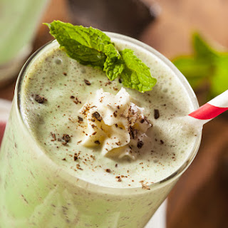 DAIRY-FREE THIN MINT SMOOTHIE Recipe