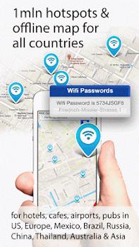 Wifimaps: free wifi +passwords