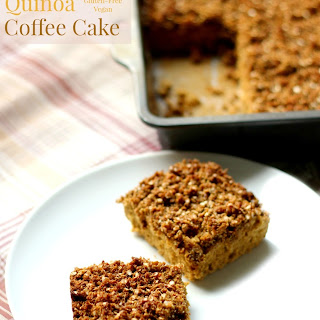 Gingerbread Quinoa Coffee Cake