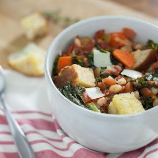 Tuscan Vegetable Soup {Ribollita} Recipe