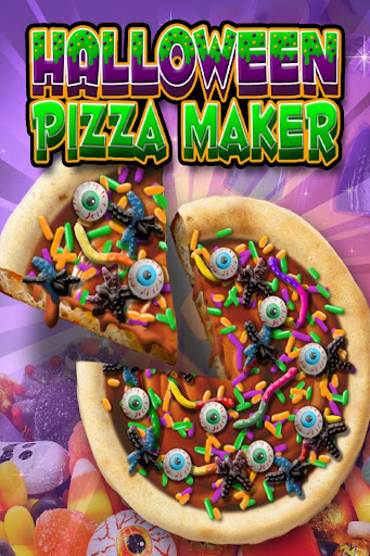 Halloween Candy Pizza Maker