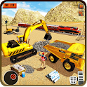 Heavy Machines Train Track Construction Simulator icon