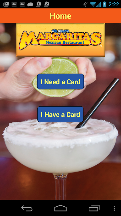Margaritas Rewards- screenshot