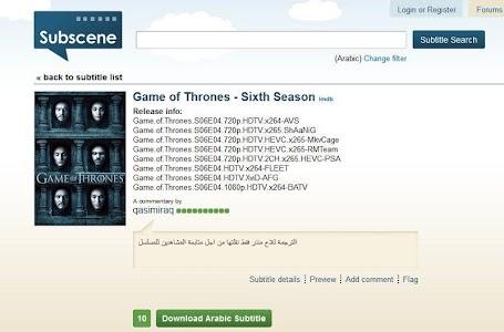 SUBSCENE GAME OF THRONES - subscene com game of thrones season 2