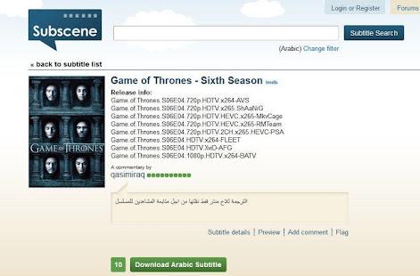 Download Subscene APK latest version App for PC